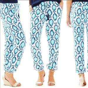 Like new Lilly Pulitzer piper jogger pants